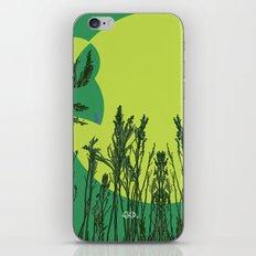 Grassy Sunset. iPhone & iPod Skin