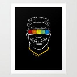 Seeing Rainbow Art Print