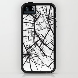 Suspension (Fractal Scaffold series #2) iPhone Case