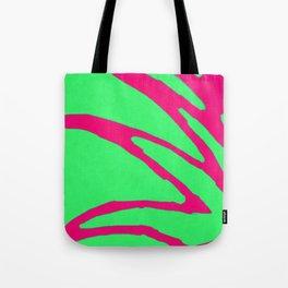 Green Pink Pattern Tote Bag