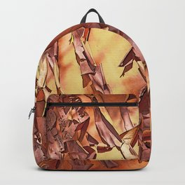 A STUDY OF MADRONA BARK Backpack