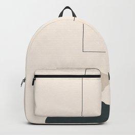 Minimal Abstract Shapes 16 Backpack
