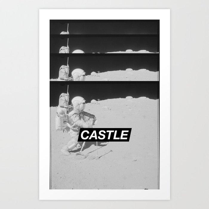 SURFACE // CASTLE Art Print