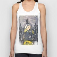bill cipher Tank Tops featuring Human Bill Cipher by Kurodoj