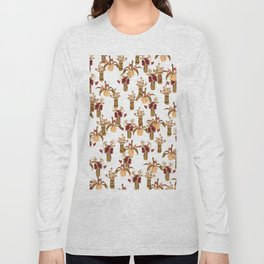 I Wanna Be Adored In Sepia Long Sleeve T-shirt