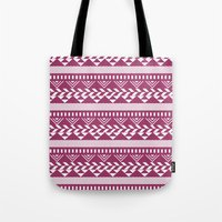 bands Tote Bags featuring Tribal Bands by stephaniemichalko
