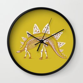 Pizzasaurus Awesome! Wall Clock
