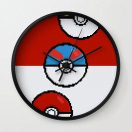 Poke Balls Wall Clock