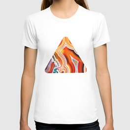 The Vivid Imagination of Nature, Layers of Agate T-shirt