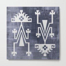 Chilean Tribal Metal Print