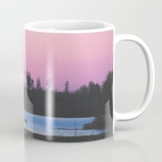 Pink skies over the lake Mug