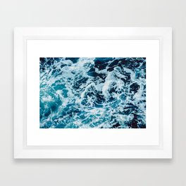 Lovely Seas Framed Art Print