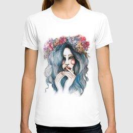 Flower Child // Fashion Illustration T-shirt