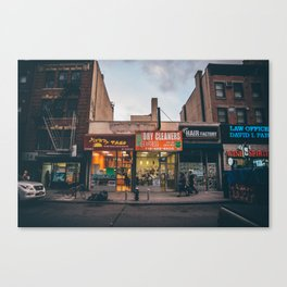 Jay & Willoughby / Brooklyn / New York Canvas Print