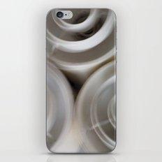 vintage blurry luminaries iPhone & iPod Skin