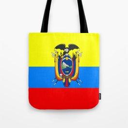 Flag of Ecuador Tote Bag