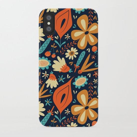 Folk Floral iPhone Case