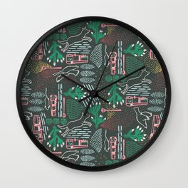 Escape from the city 2 Wall Clock