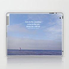 live, swim, drink Laptop & iPad Skin
