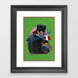 bastille day Framed Art Print