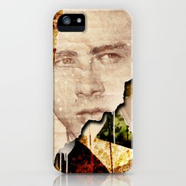 Jame Dean - Grunge Style - iPhone Case