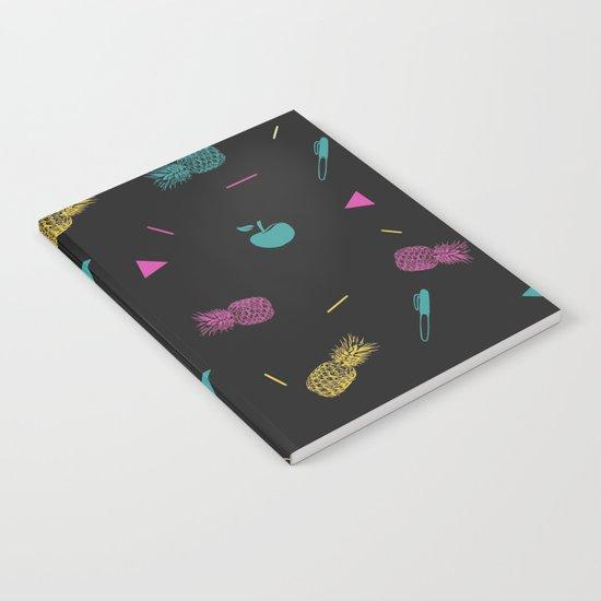 Pen Pineapple Apple Pen Notebook