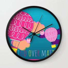 #LoveRainbow Wall Clock