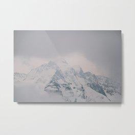 The Majestic Jungfrau Metal Print