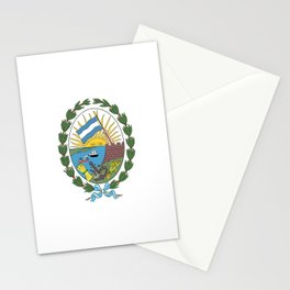 Flag of Rosario, Argentina Stationery Cards