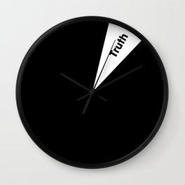 Moment of Truth - Spotlight Wall Clock