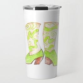 Crazy Cowgirl Boots Travel Mug