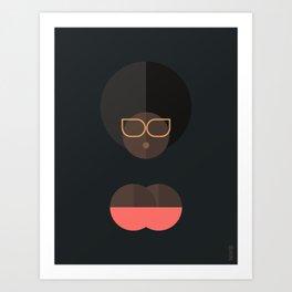 BLACK MAGIC WOMEN / Alika Art Print
