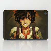 leo iPad Cases featuring Leo by viria