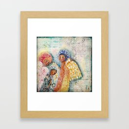 Presence of Angels  Framed Art Print