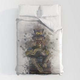 Steampunk Monkey Comforters