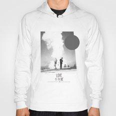 Love Is To Die | Collage Hoody