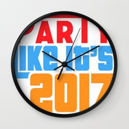 35 copy Wall Clock