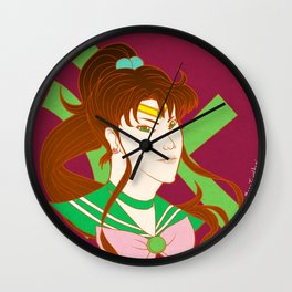 Sailor Jupiter Wall Clock