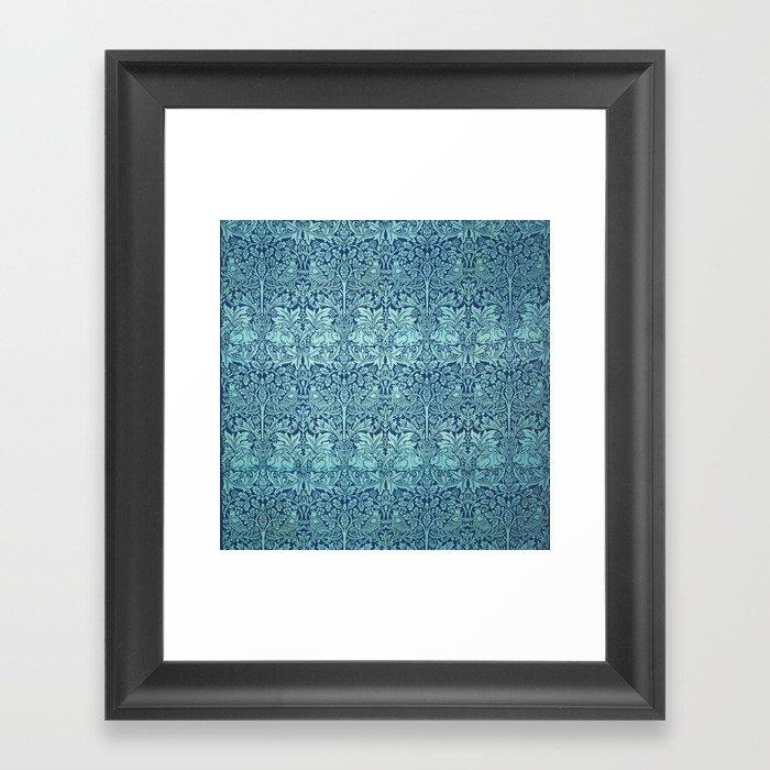 "William Morris ""Brer rabbit"" 1. Gerahmter Kunstdruck"