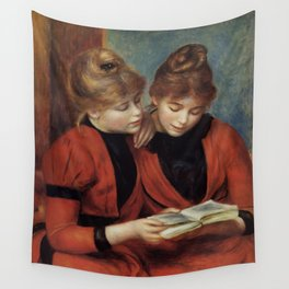 """Auguste Renoir """"The Two Sisters"""" Wall Tapestry"""