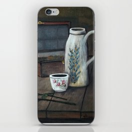 Still Study of Chardin iPhone Skin