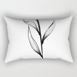 Lone Tulip Rectangular Pillow