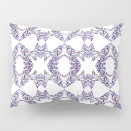LINEA 007 Abstract Collage Pillow Sham