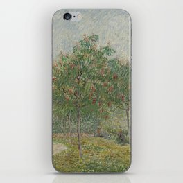 Garden with Courting Couples: Square Saint-Pierre iPhone Skin