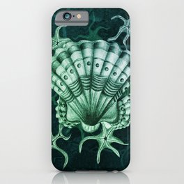 Dystopian Cockle - Lambent Green iPhone Case