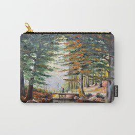 Bridge in the forest Carry-All Pouch