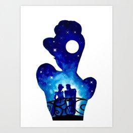 Cinderella & Prince Charming Art Print