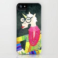 Iris the Unicorn of Fashion Slim Case iPhone (5, 5s)