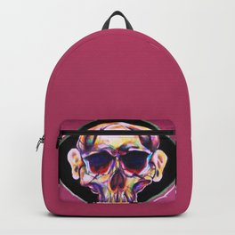 skull with ears Backpack