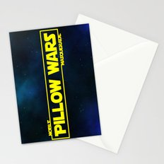 Pillow Wars Stationery Cards